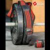 knee wraps black & red