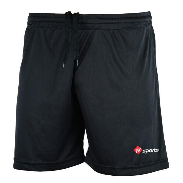 tj black shorts