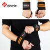 Orange wrist wrap