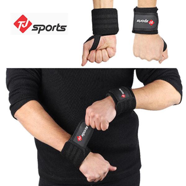 Black wrist wrap