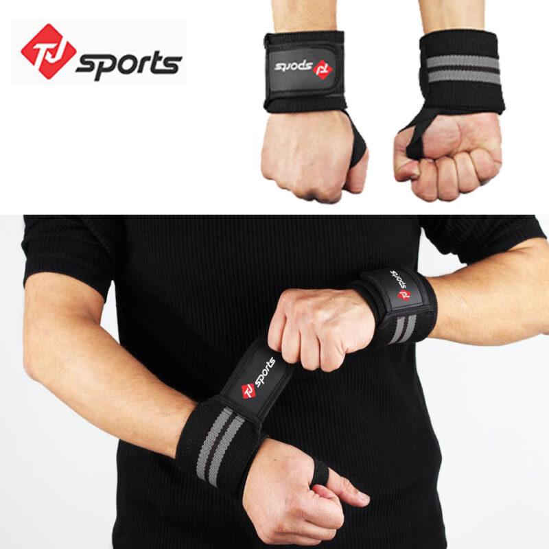 Gray wrist wrap